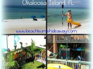 Beachbums Hideaway--A unique beachfront studio apt - Okaloosa Island vacation rentals