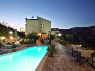 Adriana Villa, an isolated villa with amazing view - Chania vacation rentals