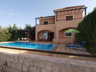 Danae Villa,a modern secluded villa with sea view - Chania vacation rentals
