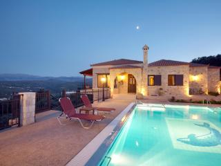 Iris Villa, a stone villa with amazing view - Chania vacation rentals