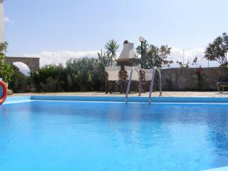 Markos Villa with private pool and sea view - Chania vacation rentals