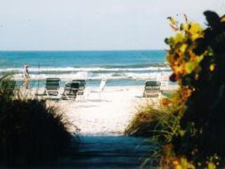 Our very short little path to the our private beach - 5 Star True Direct Beachfront. (Best of the Best) - Siesta Key - rentals