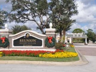 Reunion Resort Entrance - 3 Bedroom Disney Condo Rental - Reunion - rentals