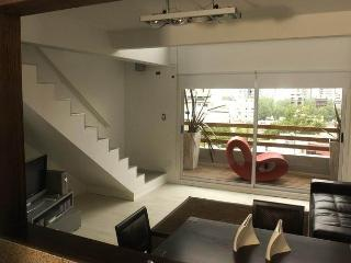 Trendy LOFT w/ Deck Balcony + Pool + WiFi + AC - Buenos Aires vacation rentals