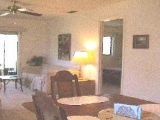 Open floor plan looking out towards lanai - Villa with 1car garage near IMG, College of So Fl - Bradenton - rentals