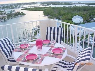 Dinner on the Patio - Florida Keys Luxury Penthouse with Amazing Views - Marathon - rentals