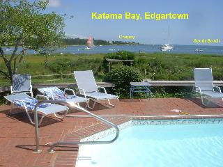 Edgartown 4 Br. waterfront  w/pool and great views - Edgartown vacation rentals