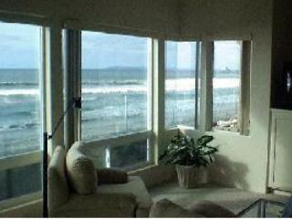 View of Ocean from Living Room - 3 Bedroom Condo ON the Southern California Beach ! - Imperial Beach - rentals