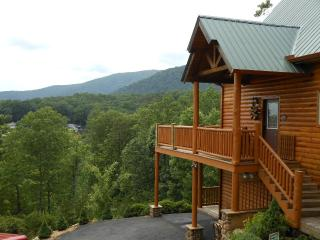 Views, Views, Views.  Luxury mountain top Cabin - Helen vacation rentals
