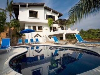 5 bedroom/ 6 bath beach front villa with chef & car - Punta del Burro vacation rentals