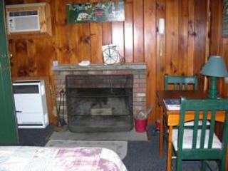 Fireplace - Sun Valley Cottages, Cottage #11 - Weirs Beach, NH - Laconia - rentals