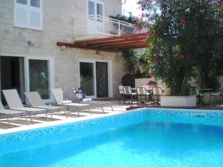 Large family villa with pool - right on the beach! - Island Brac vacation rentals