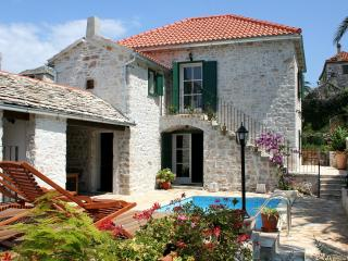 Stone villa with pool recommended by Sunday Times! - Island Brac vacation rentals