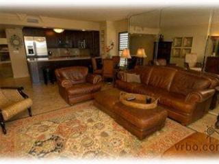 Spacious living area - Indian River Plantation  --  Beachfront Condo - Hutchinson Island - rentals