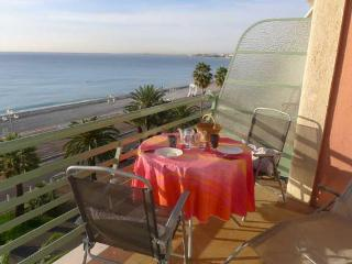 NEPTUNE PLAGE, beautiful seafront appartment - Nice vacation rentals