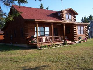 Log Home on Sand Beach - Cedar River vacation rentals