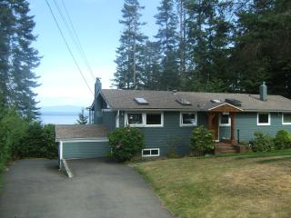 Waterfront home on Vancouver Island - Bowser vacation rentals