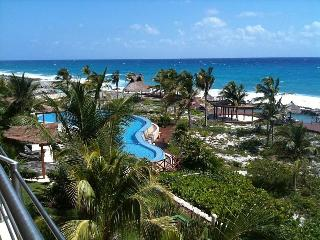 Ocean front luxury condo on the Mexican Riveria - Puerto Aventuras vacation rentals