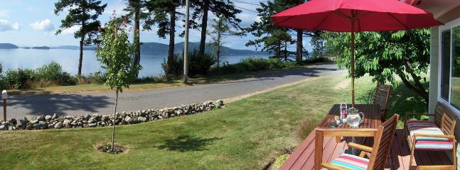 Waterfront View of San Juan Islands - The Beach House on Samish Island - Anacortes - rentals