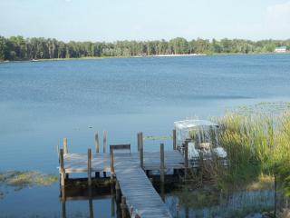 Lakefront 3 bedroom on 125 acre fish and ski lake - New Port Richey vacation rentals