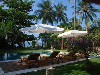 Beachfront Villa with the Pool / Boat / Diving - Candidasa vacation rentals