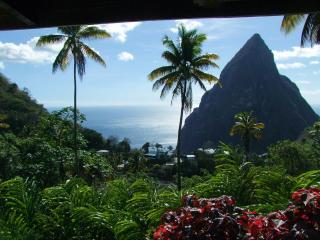 Jaco Pitons Villa | Away-from-it-all by the Pitons - Marigot Bay vacation rentals