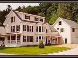 Outside of 9 High Street w/front parking area - 9 BRs, Sleeps 25;Shuttle,Avail. March 3-30 wkends - Ludlow - rentals
