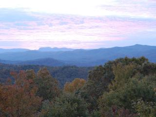 Amazing Fall Colors and Mountain Views; Quiet Secluded Yet Close To Town - Brevard vacation rentals