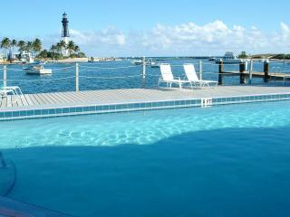 Waterfront Condo Overlooking Hillsboro Inlet - Pompano Beach vacation rentals