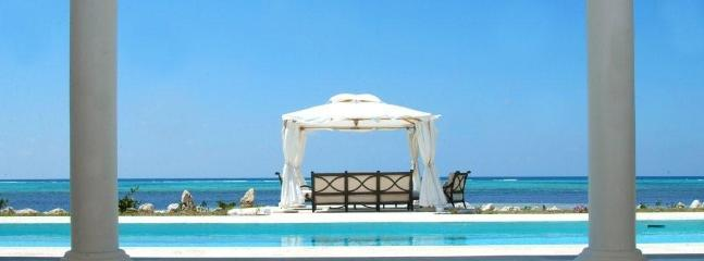 View from the living room - Beachfront 6 Bed/ 7 BR villa, 5 min to George Town - George Town - rentals