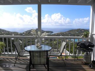 Sunshine Daydream (aka Coral Breeze)-Cozy Hilltop Villa with Panoramic Ocean Views - Cruz Bay vacation rentals