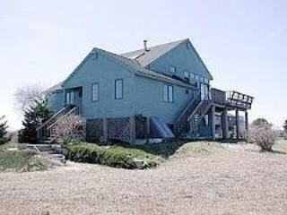 SKYBLUEPINK from the entrance - N.TRURO 4 BR  priv beach ,stunning views, whales - North Truro - rentals
