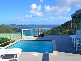 Romantic Home Panoramic Ocean View from $275/night - Coral Bay vacation rentals