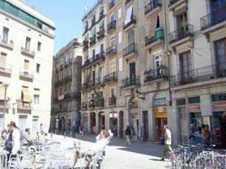 The plaza out front - NO LONGER AVAILABLE - Barcelona - rentals