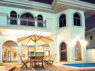 Dubai Palm Villa Anna, 4 bedrooms with pool - Eden Island vacation rentals
