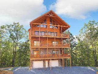 Fit For A King-7br/6ba-sleeps 28-best View In Town - Pigeon Forge vacation rentals