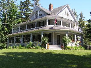 Lrg Victorian on 4 Acres Overlooks Frenchman's Bay - Hancock vacation rentals