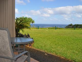 Oceanfront Pali KeKua Studio at a Reasonable Price - Princeville vacation rentals