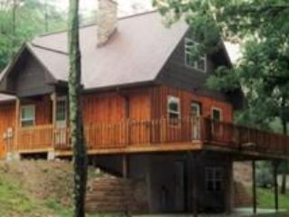 Outside The Cabin - Dufflane Year-Round Cabin Rental - James Creek - rentals