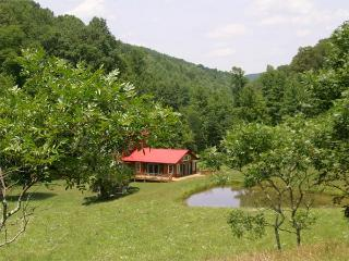 Secluded Cabin private refuge/pond/spa/art studios - Sutton vacation rentals