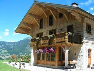 Unique Mountain Eco Chalet near Lake Geneva - Bonnevaux vacation rentals