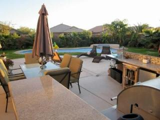 Lg lush sunny yard w heated pool/spa & great home - Maricopa vacation rentals