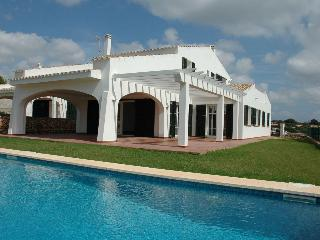 Seafront villa private pool and garden-beautiful view, ideal for families - San Climente vacation rentals