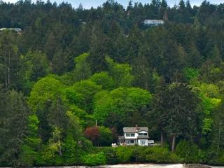 Ocean front house with private beach. - Salt Spring Island vacation rentals