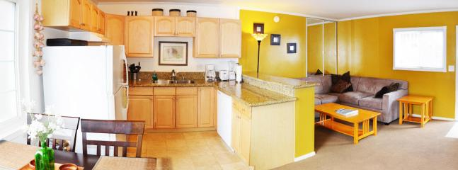 Kitchen and Living room - Close to everything in Mission Beach - San Diego - rentals
