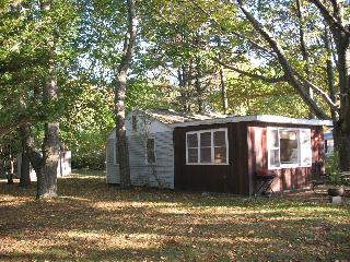 Cottage on sandy Lake Michigan beach - New Era vacation rentals