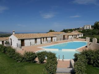 Panoramic sea view apartment with sharing pool - Badesi vacation rentals