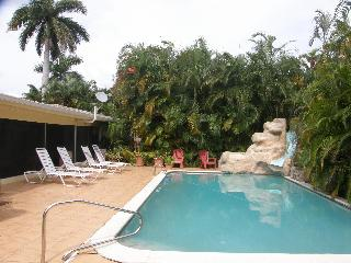 Spacious tropical gardens in East Hollywood. - Hollywood vacation rentals