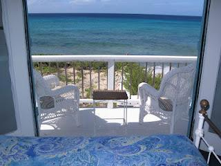 Ocean view from Beach House North - Oceanfront House with Sandy Beach on Salt Cay - Salt Cay - rentals