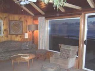 Living room, view of ocean - Rustic - Waldport - rentals